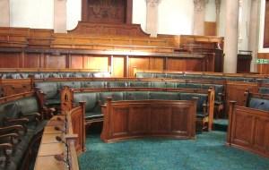 قاعة البرلمان البريطاني تصوير إقبال التميمي